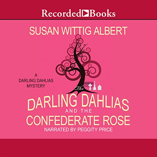 The Darling Dahlias and the Confederate Rose audiobook cover art