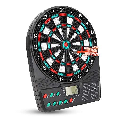 Keenso Automatische Scoring-Dartscheibe, Mini-LCD-Bildschirm Elektronische Dartscheibe für das Turnierspiel
