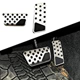 Anti-Skip At Pad Gas Fuel Accelerator Brake Pedal Cover Fit For Jeep Wrangler Jk 2007-2014 2015 2016 2017 Accessories Trim