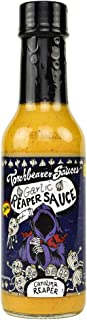 Torchbearer Sauces Garlic Reaper Sauce, 5 ounces - Carolina Reaper Peppers - All Natural, Vegan, Extract-Free, Made in USA and Featured on Hot Ones!