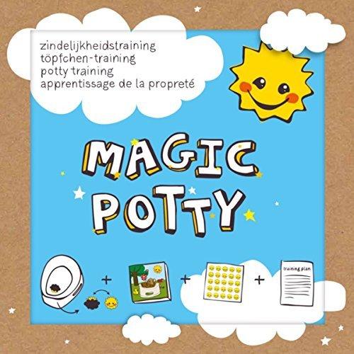 Magic Potty Töpfchentraining Toilettensticker Sauberkeitstraining bunte Sticker Baby Pflege - LK-Trend & Style