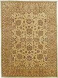 Nain Trading Ziegler Farahan - Alfombra oriental (333 x 298 cm), color beige