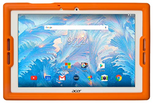 BobjGear Bobj Rugged Tablet Case for Acer Iconia B3-A40 and B3-A30 Kid Friendly (Outrageous Orange)
