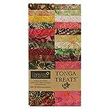 TIMELESS TREASURES 0645967 Tonga Treats Batiks 2.5'' Strip