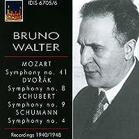 Bruno Walter conducts Mozart, Dvorak, Schubert & Schumann by New York Philharmonic