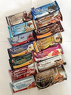 Quest Nutrition, 14 Protein Bars, Variety pack, NEW PACK (B00NSSJ2PK) | Amazon price tracker / tracking, Amazon price history charts, Amazon price watches, Amazon price drop alerts