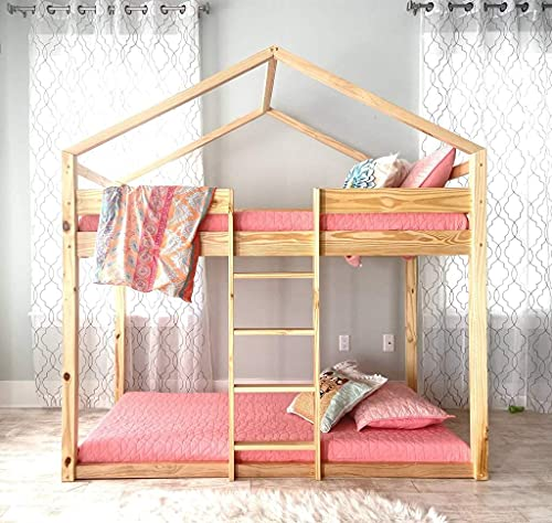Eloise Twin Over Twin House Bunk Bed