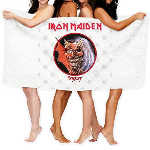 Iron Maiden - Toalla de baño (secado rápido)