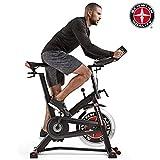 Schwinn Fitnessbike Speedbike IC7, pulverbeschichteter Stahlrahmen, 18 kg PWD Schwungrad, Brustgurtempfänger
