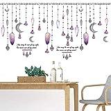 Perle vorhang fenster wandaufkleber tv sofa hintergrund wanddekoration pvc wandaufkleber dekoration