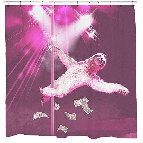 CHATAE Stripper Faultier Dusche Vorhänge