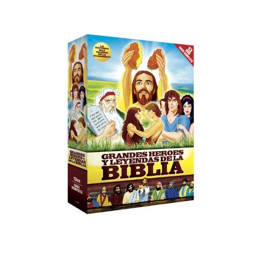 Grandes Heroes y Leyendas de La Biblia [DVD]