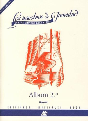 Mega music Album para piano Volumen 2 Maestros de la juventud-nueva edición