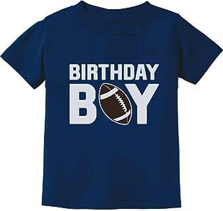 The Birthday Boy Football Baby Boy Birthday Infant Kids T-Shirt