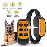 Queenmew Dog Bark Collar, Anti Dog Barking Device Training Collars, Rechargeable & Waterproof
