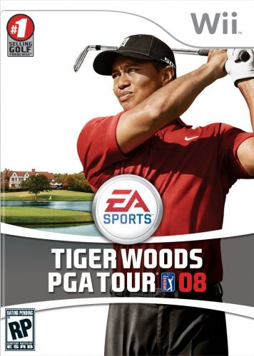 Electronic Arts Tiger Woods PGA Tour Golf 08, Wii