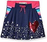 Desigual Girl Knit Skirt Short (Fal_grevalosa) Falda, Azul (Navy 5000), 152 (Talla del Fabricante: 11/12) para Niñas