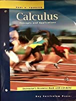 Calculus: Concepts and Applications, Instructor's Resource Book with CD/ROM (Advanced Mathematics) 155953656X Book Cover
