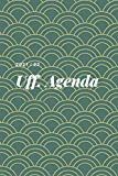 UFF. AGENDA 2021 22 11: agenda diario diary calendar notebook weekly appunti notes quaderno new year anno
