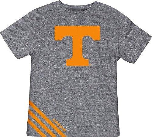 Adidas Tennessee Volunteers Vintage Big Stripes Premium Tri-Blend T-Shirt Chemise