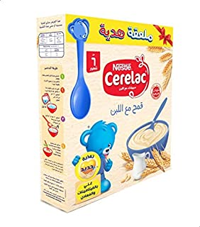 Cerelac Wheat with Milk, Extra Spoon - 125 grams