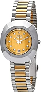 Rado Diastar Women's Gold Dial Metal Band Watch - R12307304