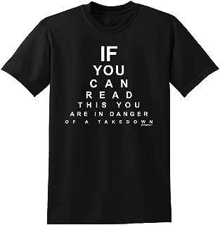 Wrestling Eye Chart T-Shirt