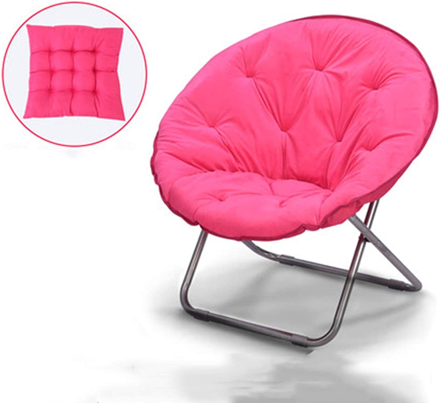 Large Lazy Chair Moon Chair Folding Recliner Dormitory Chair Lunch Break Lazy Couch Chair Sun Lounger Leisure