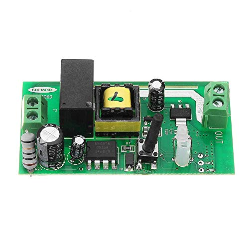 Allamp Power module 85V-265V AC Smart Remote Control Switch Module Electronic Wireless Wifi Switch Module for LED Smart Home