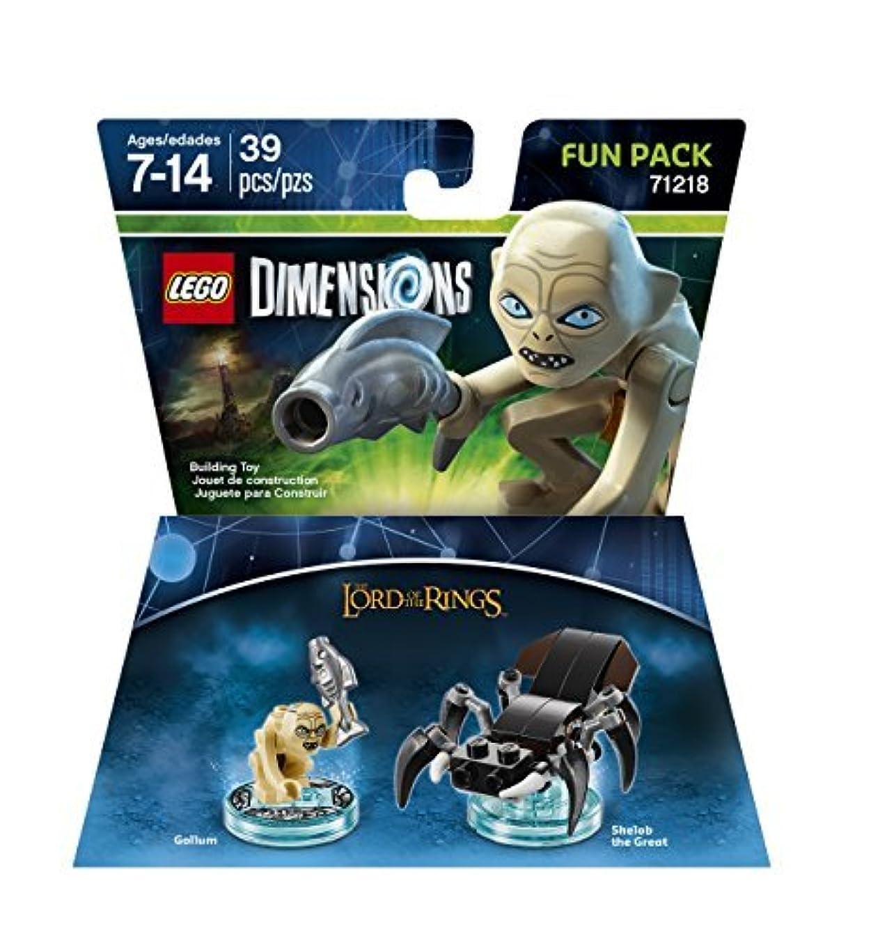 包括的人質画像Lord Of The Rings Gollum Fun Pack - LEGO Dimensions by Warner Home Video - Games [並行輸入品]