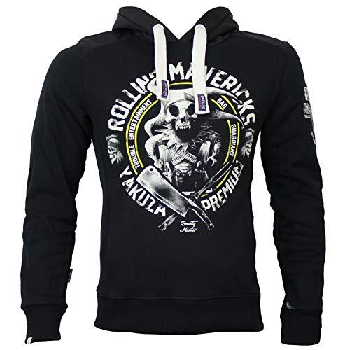 Yakuza Premium Herren Sweatshirt YPH 2721 schwarz