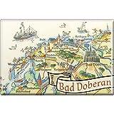 Küchenmagnet - Bad Doberan - Gr. ca. 8 x 5,5 cm - 38136 - Magnet