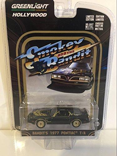 Greenlight 1:64 Hollywood Series Smokey and the Bandit 1977 Pontiac Trans Am Diecast Car