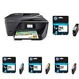 HP OfficeJet Pro 6960 Multifunktionsdrucker schwarz + HP 903 Multipack