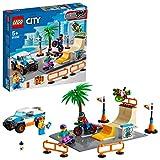 LEGO 60290 City Skate Park Bauset mit Skateboard, BMX Fahrrad, Truck und Minifigur von...