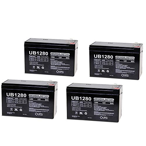 12V 8AH UPS Battery Replaces 35W Enersys Datasafe Npx-35T - 4 Pack