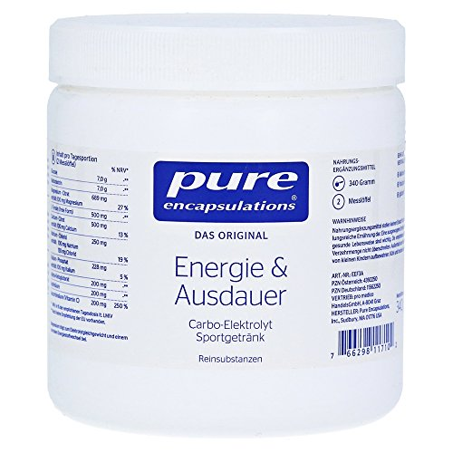 pure encapsulations Energie & Ausdauer Pulver Dose, 340 g Pulver