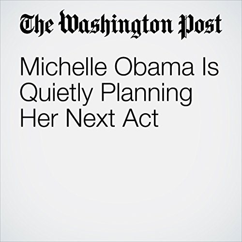 Michelle Obama Is Quietly Planning Her Next Act  copertina
