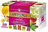 Twinings Infusi - Collection - Deliziosa Combinazione di Frutta ed Erbe che offre un'Esplosione di Gusto 100% Naturale e Senza Caffeina (20 Bustine)