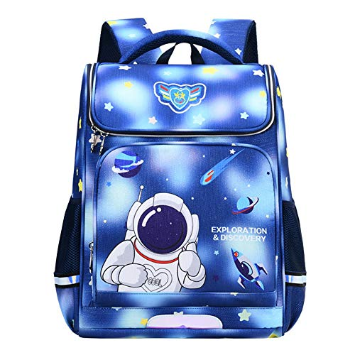 Ice-Beauty-ukzy Backpack Child Boy Primary, Waterproof Large Capacity Lightweight Casual School Bag, Ideal For School, Leisure, Travel, Hiking etc