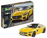 Revell Modellbausatz Auto 1:24 - Mercedes-Benz AMG GT im Maßstab