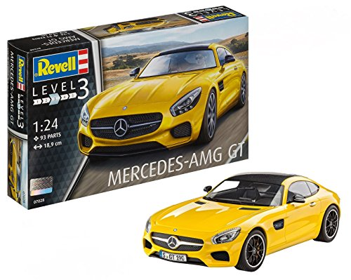 Revell Mercedes AMG GT Escala 1/24-Revell RE07028, Color