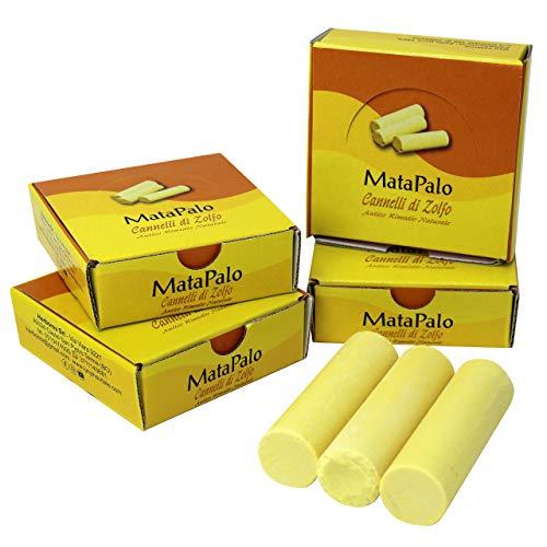12 Barritas de azufre - Remedio natural para los dolores cervicales, tortícolis, dolores articulares y resfriados