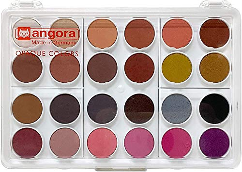 Angora Opaque Watercolor Set of 24 Pans (95960120)