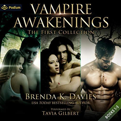 Vampire Awakenings: The First Collection Audiobook By Brenda K. Davies cover art