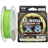 YGK G Soul X8 Upgrade PE Braid 1.0/22lb/150m
