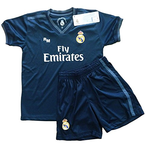 Real Madrid FC Kit Infantil Replica Segunda Equipación 2018/2019