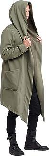 Sunward Coat for Men,Men's Autumn Winter Casual Hooded Pocket Trench Long Sleeve Outwear Coat Tops