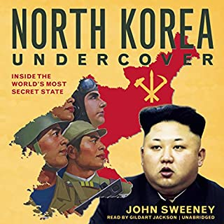 North Korea Undercover audiobook cover art