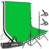 Neewer 2x3M Stand di sfondo, Sistema di Supporto per fondali in...